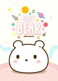 Baby Bears Galaxy White
