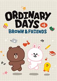 BROWN ORDINARY DAYS