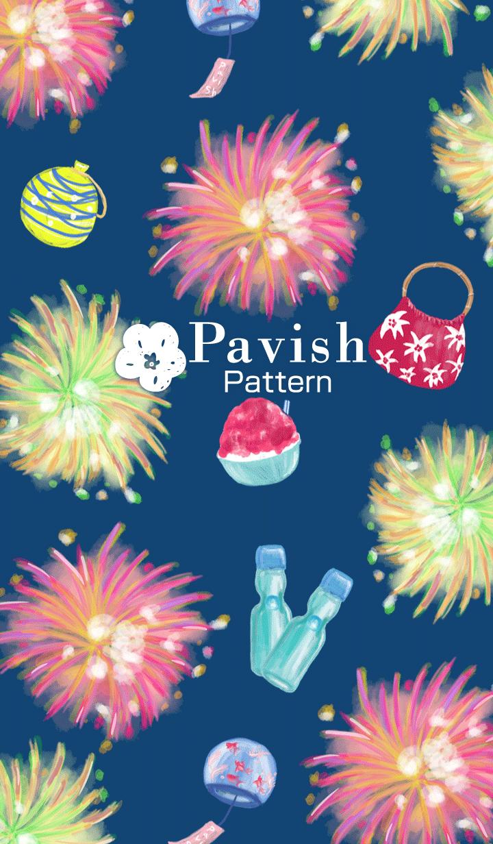 fireflower -Pavish Pattern-