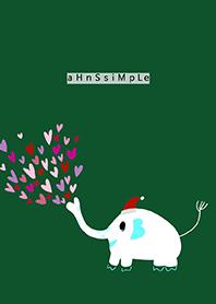 ahns simple_christmas_elephant_left