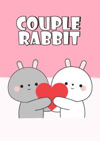 Love Couple Rabbit Theme