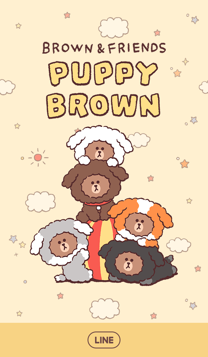 PUPPY BROWN