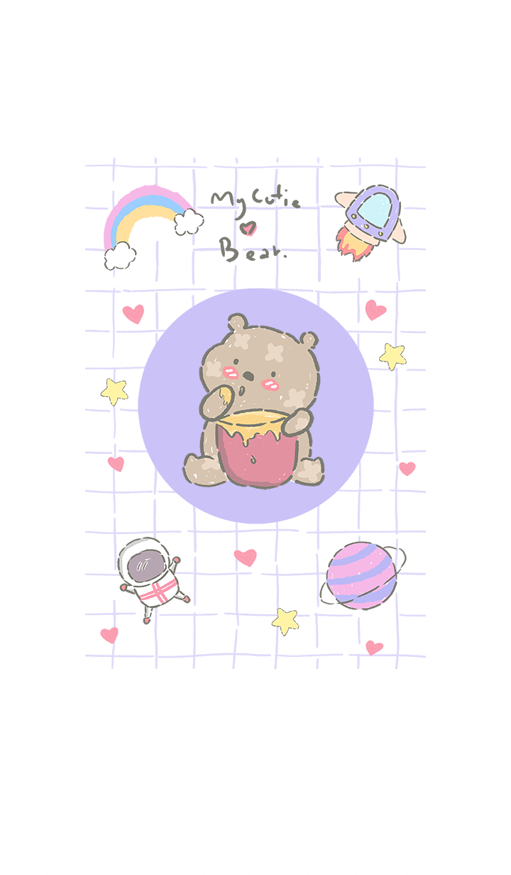 my cutie bear in space5