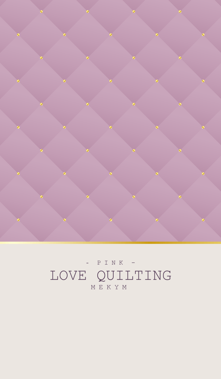 LOVE QUILTING PINK 22