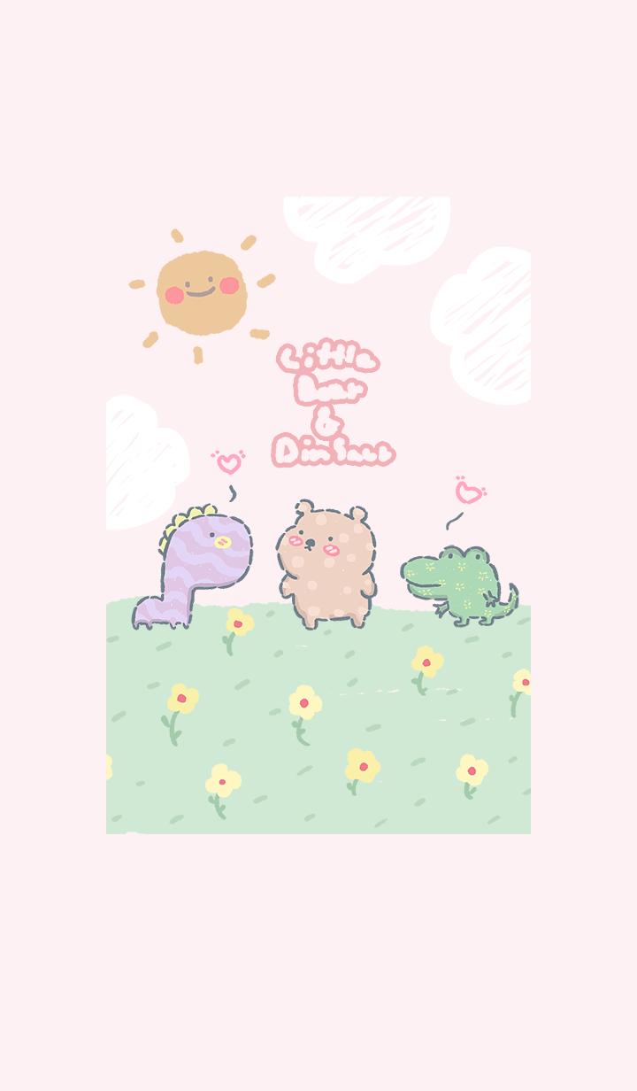 Little bear & dinosaur