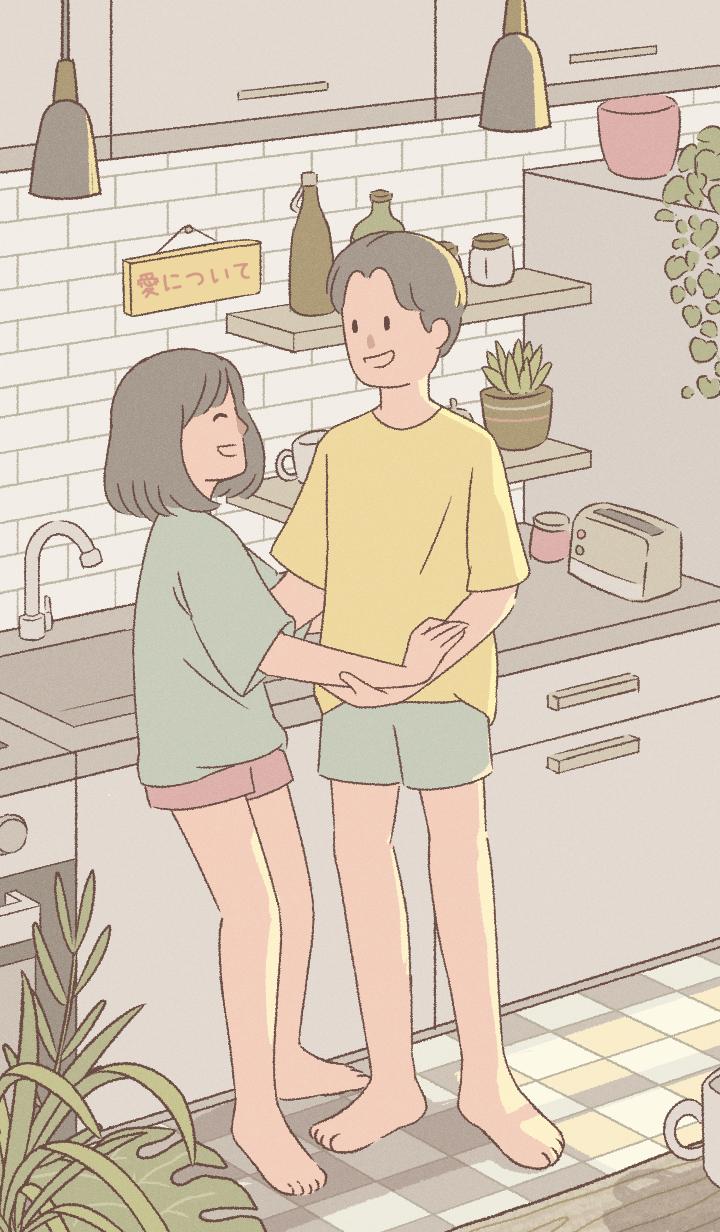 cute couple: about love [JAPAN ver.]