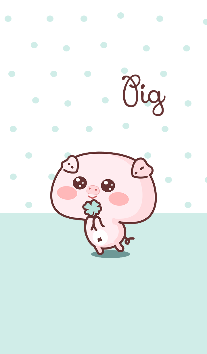 Pig of green