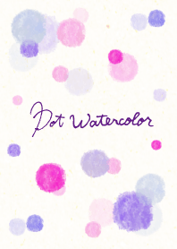Dot Watercolor
