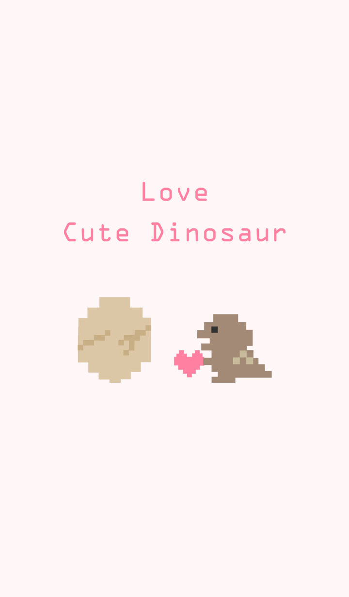 My electronic dinosaur-Love pink