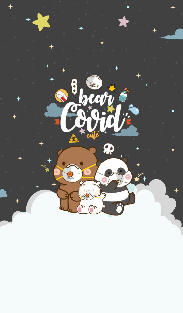 Bear Covid-19 Night