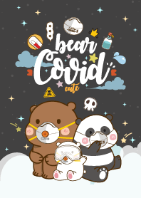 Bear Covid-19 Night