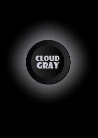 Cloud Gray Button In Black V.2