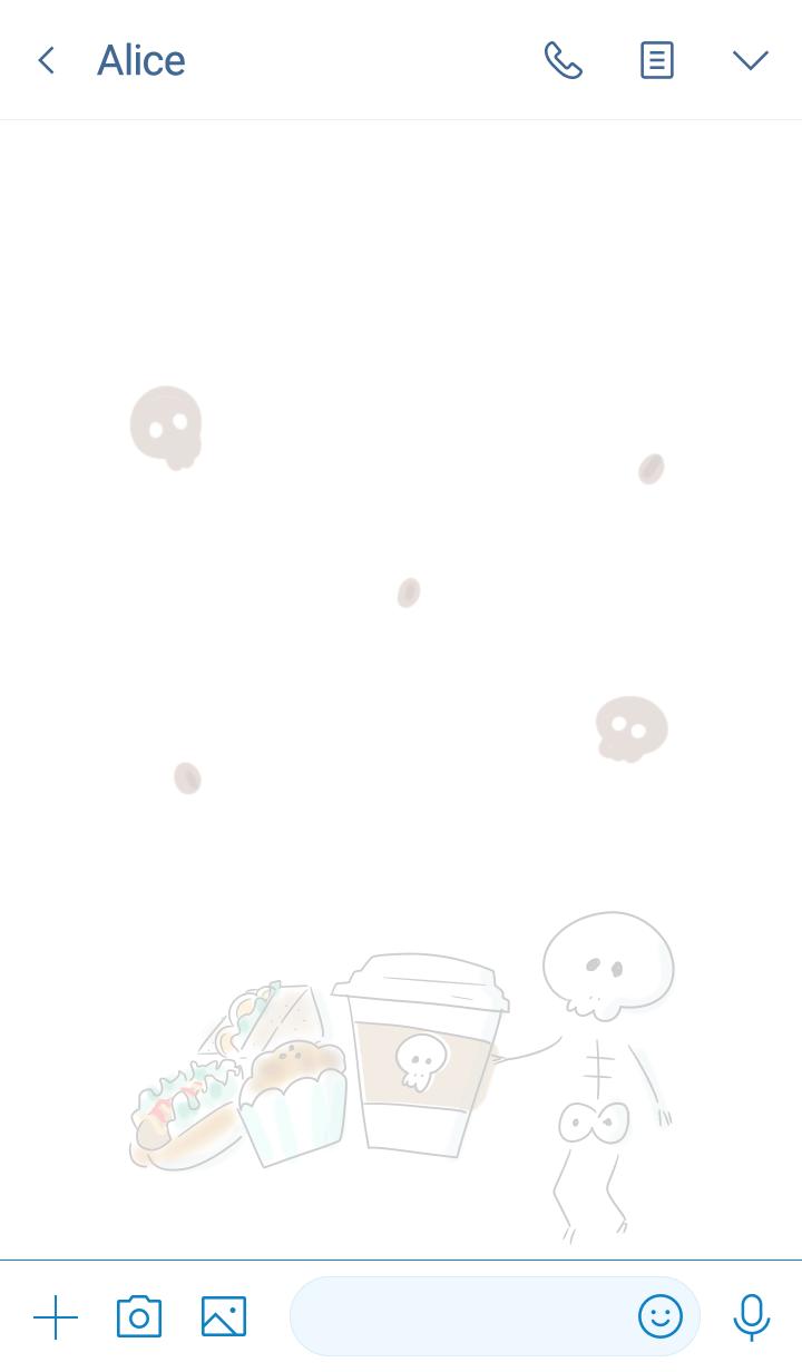 simple Bone coffee