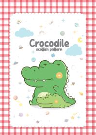 Crocodile Scottish Kawaii