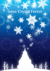 Snow Crystal Forest