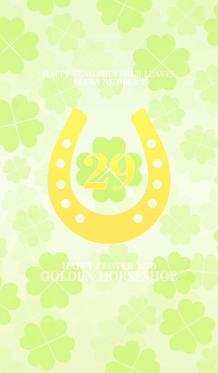 Happy clover and golden horseshoe 29