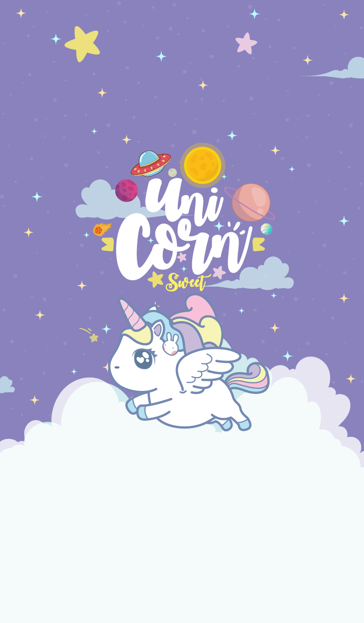 Unicorn Sweet Galaxy Magenta