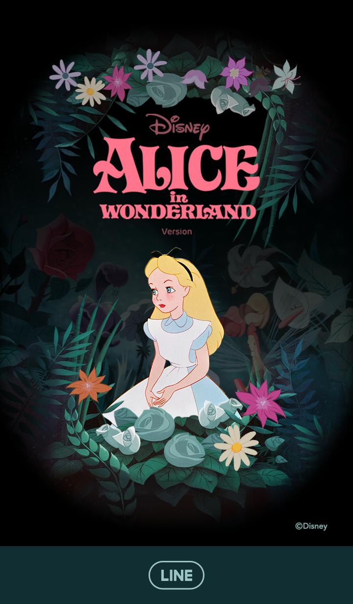 Alice in Wonderland (Flowers)
