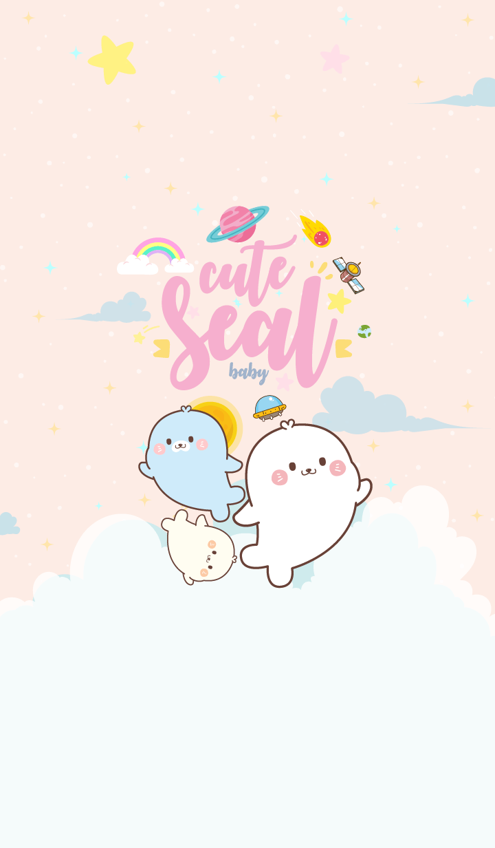 Seal Baby Galaxy Gang
