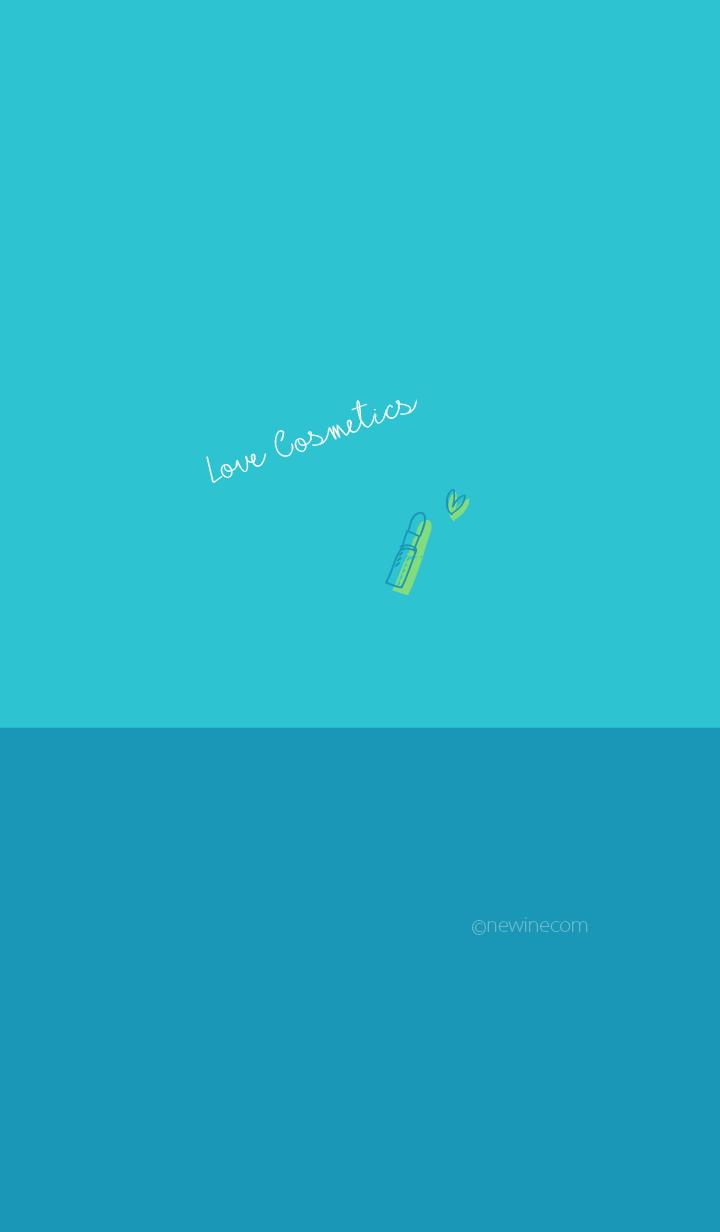 Love Cosmetics turquoise blue