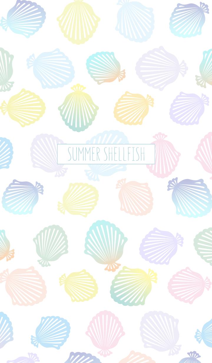 Summer shellfish:Blue