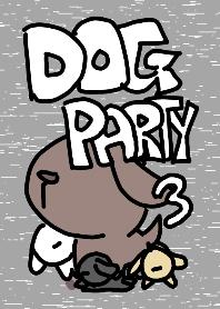 ธีมไลน์ dog party3