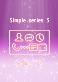 Simple series 3 -Color 38 -