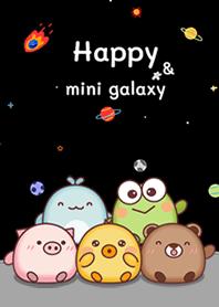 Happy mini galaxy