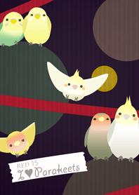 心愛的鸚鵡/紅15
