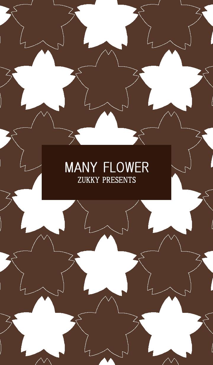 MANY FLOWER58