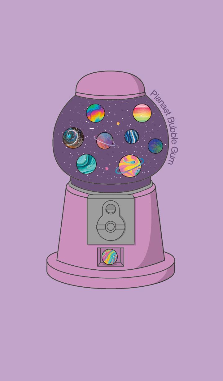 Planet bubble gum #2 +