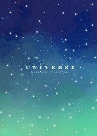 宇宙-浪漫夜空(星空-湖水綠)