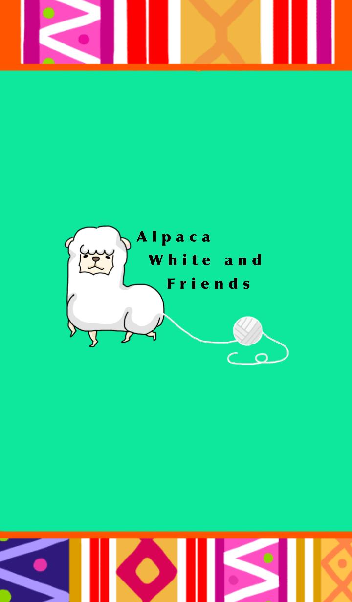 AlpacawhiteandFriends