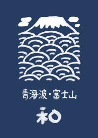 Japanese style wave pattern(01)