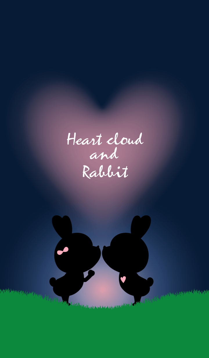 Heart cloud and Rabbit.