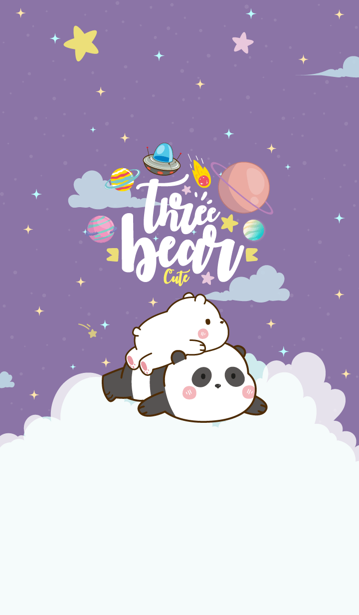 Bear Pastel Galaxy Cute Megenta