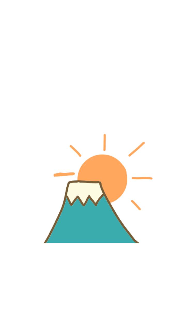 Simple Mt. Fuji sunrise g
