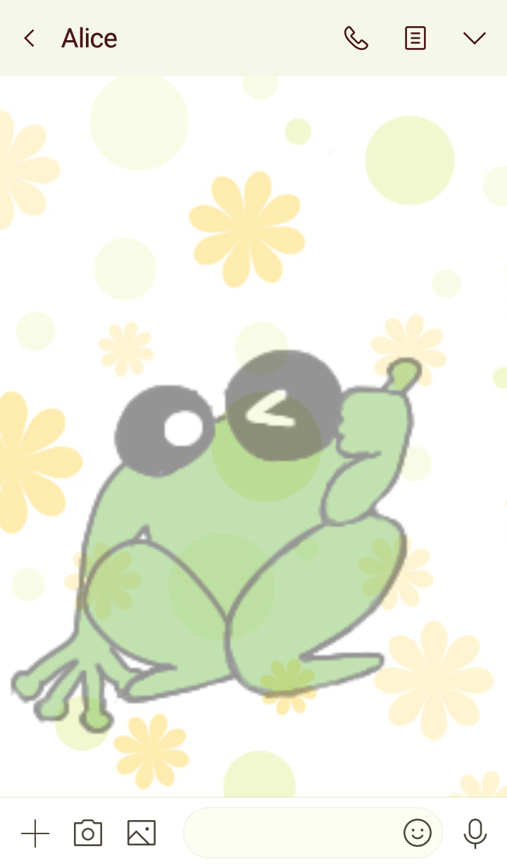 Lots of green frogs