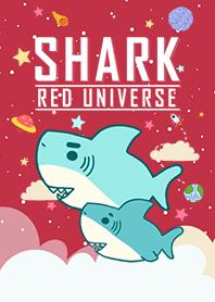 浩瀚宇宙 寶貝鯊魚出沒 紅色
