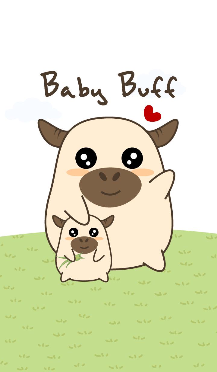 Cute Baby Buffalo