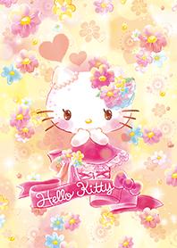 Hello Kitty 花團錦簇(黃色篇)