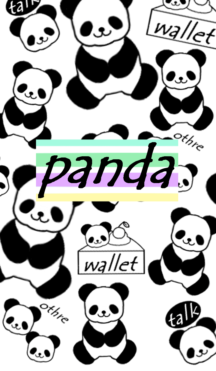 mamama-chin-Cute panda.pw1.pastel colour