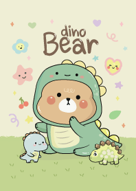 Bear Dino Costume (Green)