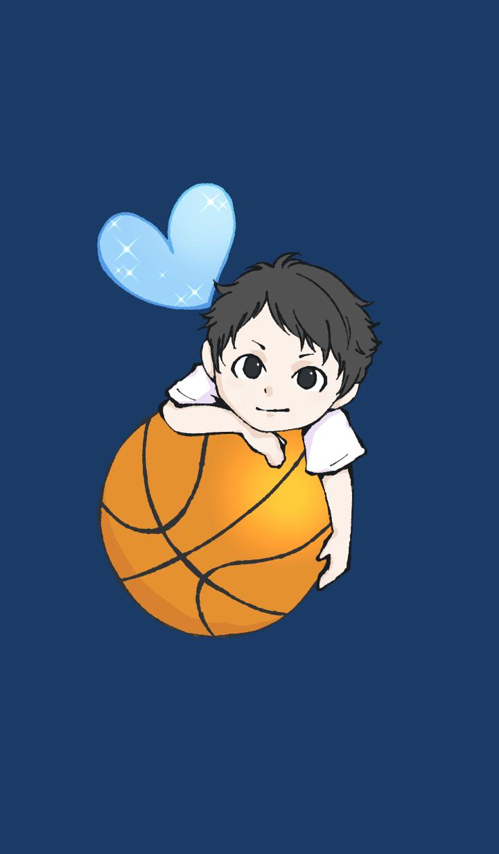 Boy in Basketball club 3