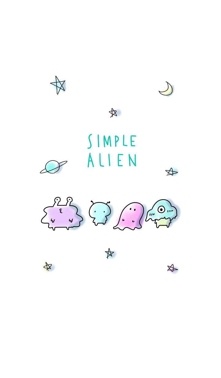 simple alien Theme