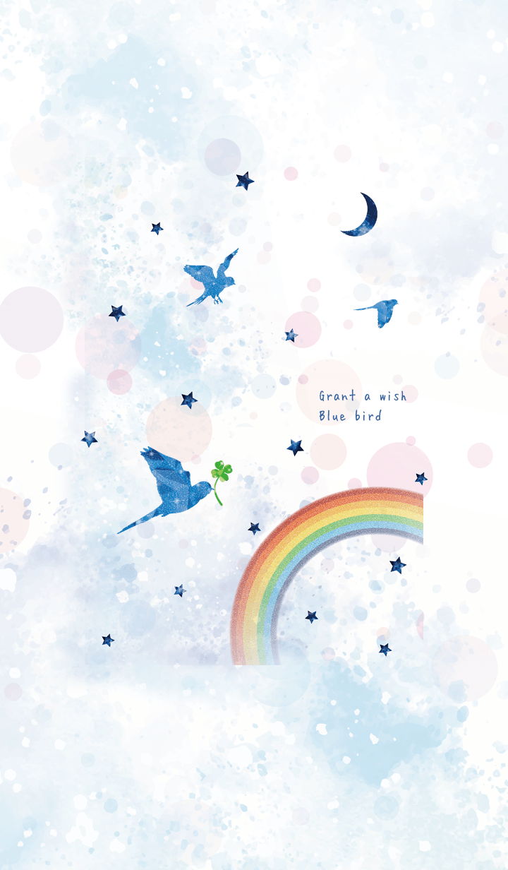 ''Grant a wish'' Blue bird*