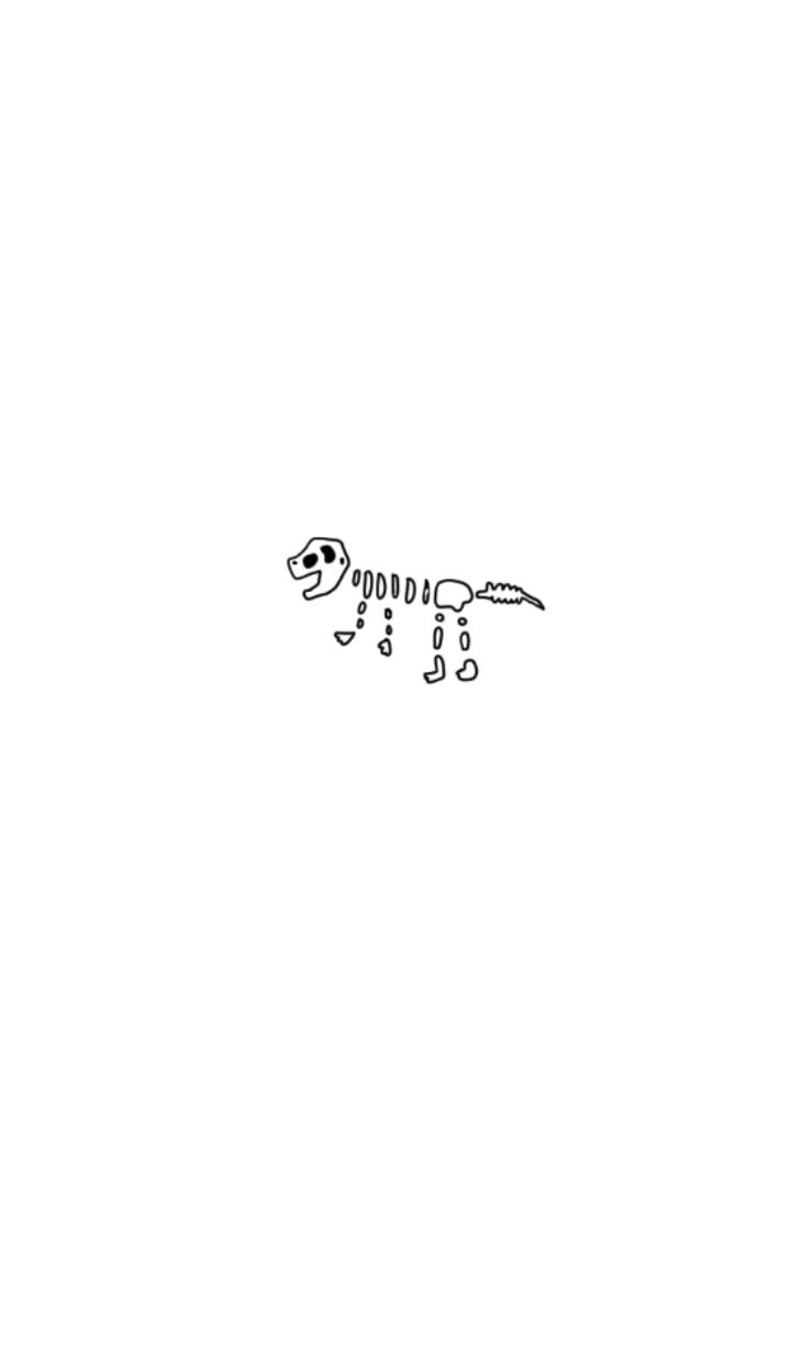 Dinosaur bones theme.