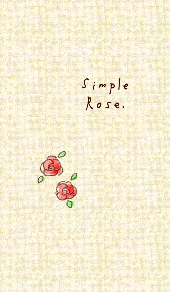 rose beige simple