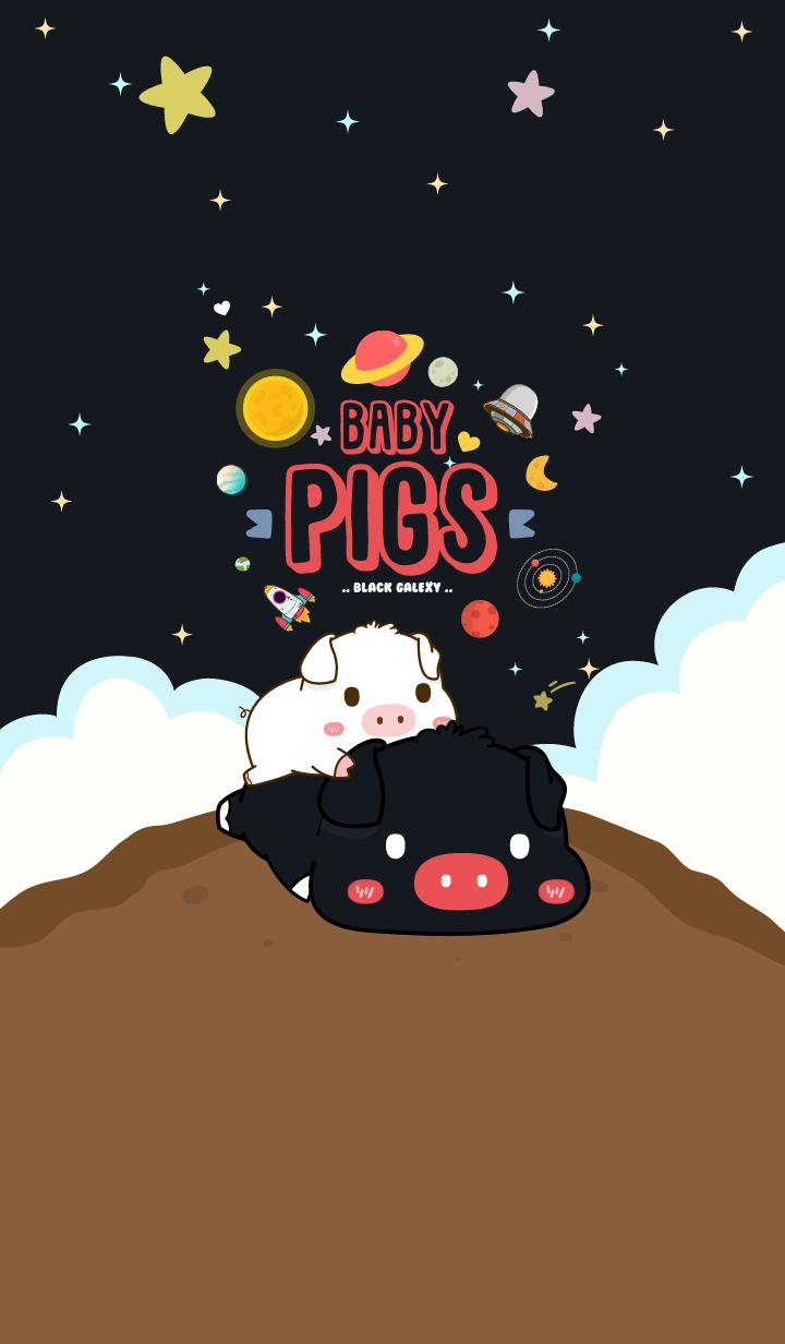 Baby Pig Galaxy Black