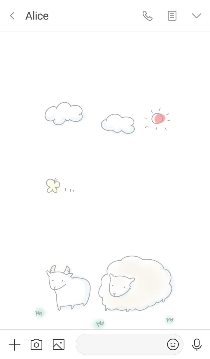 simple goat sheep